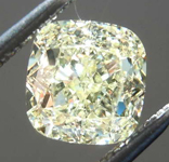 SOLD....1.27ct W-X VS2 Cushion Cut Diamond R8564