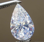 SOLD.....0.70ct D VS2 Pear Shape Diamond R8568