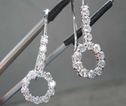 1.18ctw E-F VS Round Brilliant Diamond Earrings R8558