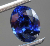 1.18ct Blue Oval Sapphire R8591