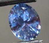 1.40ct Blue Oval Shape Sapphire R8600