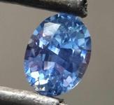 0.84ct Blue Oval Shape Sapphire R8590