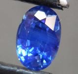 1.01ct Blue Oval Shape Sapphire R8592