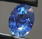 1.02ct Blue Oval Shape Sapphire R8597