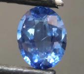 1.26ct Blue Oval Shape Sapphire R8594