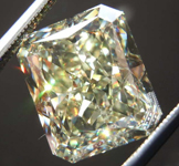SOLD....6.54ct Y-Z VVS2 Radiant Cut Diamond R8610