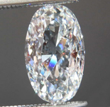 1.19ct F SI2 Oval Brilliant Diamond R8604
