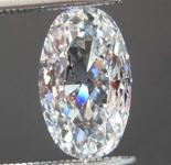 1.19ct F SI2 Oval Brilliant Diamond R8604