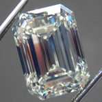 10.05ct U-V VS1 Emerald Cut Diamond R8632