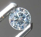 0.09ct Faint Green SI1 Round Brilliant Diamond R8483