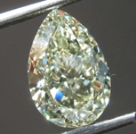 SOLD.....2.50ct Y-Z SI1 Pear Shape Diamond R8658