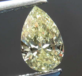 0.51ct Yellow VS1 Pear Shape Diamond R8662