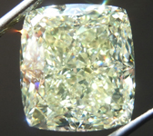 SOLD....7.52ct Yellow VS1 Cushion Cut Diamond R8702