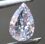 SOLD....0.50ct Purple SI1 Pear Shape Diamond R8718