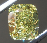 1.02ct Intense Yellow VVS2 Cushion Cut Diamond R8724