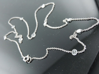 0.95ctw F VS Rose Cut Diamond Necklace R8695