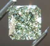 1.20ct Green-Yellow VS2 Radiant Cut Diamond R8765