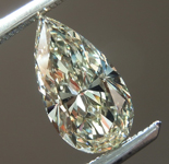 SOLD....0.95ct N VS1 Pear Shape Diamond R8740
