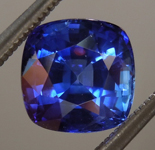 SOLD....2.16ct Blue Cushion Cut Sapphire R8757