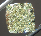 sold....3.25ct Yellow VVS2 Cushion Cut Diamond R8780