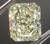 3.33ct W-X VVS2 Radiant Cut Diamond R8784