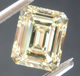 2.00ct Yellow VS1 Emerald Cut Diamond R8808
