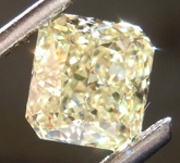 1.80ct Yellow VVS2 Radiant Cut Diamond R8809