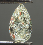 1.09ct U-V VS2 Pear Shape Diamond R8848
