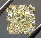 1.59ct Y-Z VS2 Radiant Cut Diamond R8866