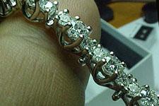 Bracelet- Lucida Style Diamond Bracelet
