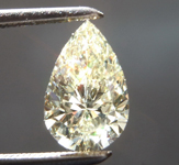 1.15ct U-V VVS2 Pear Shape Diamond R8897