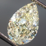 1.50ct U-V VS1 Pear Shape Diamond R8913