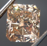 2.06ct Brown SI1 Radiant Cut Diamond R8930
