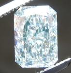 1.76ct Green VS1 Radiant Cut Diamond R8959