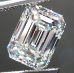 SOLD....3.01ct K VS1 Emerald Cut Diamond R8950