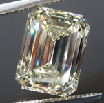 SOLD....5.16ct W-X VVS2 Emerald Cut Diamond R8967