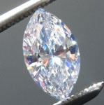 SOLD....0.48ct E SI1 Marquise Diamond R8992