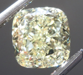 1.54ct Y-Z IF Cushion Cut Diamond R9019