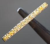 0.11ctw Yellow VS Round Brilliant Diamond Ring R9009