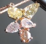 1.70ctw Fancy Color Diamond Pendant R8974