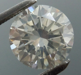 1.51ct Fancy Gray I1 Round Brilliant Diamond R8989