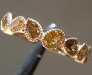 0.98ctw Fancy Color Diamond Ring R8975