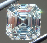 SOLD.....1.05ct K SI1 Asscher Cut Diamond R9109