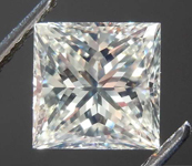 1.28ct M VS2 Princess Cut Diamond R8544