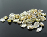 5.34ctw Fancy Color Diamond Parcel R9130