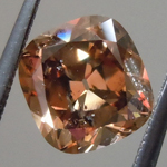 1.36ct Brown I1 Cushion Brilliant Diamond R9143