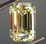 SOLD....2.24ct Yellow VS2 Emerald Cut Diamond R8904