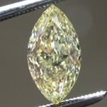 1.04ct Fancy Yellow VS1 Marquise Diamond R9148