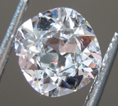 0.70ct D IF Cushion Cut Diamond R9173