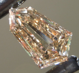 SOLD....1.17ct Brown VS2 Kite Step Cut Diamond R9193